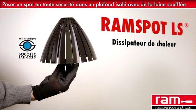 ramspot ls eclairage accessoire de pose. Black Bedroom Furniture Sets. Home Design Ideas