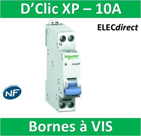 disjoncteur-dclic-xp-10a-schneider