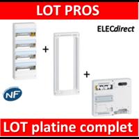 Legrand - LOT PROS - Coffret DRIVIA 52 Modules + rehausse + platine - 401214+401384+401181