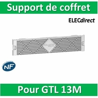 Schneider - Support de coffret pour goulotte GTL RESI9 13 modules - R9H13537