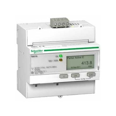 Schneider - Acti9 iEM - compteur d'énergie tri - 63A - Modbus - A9MEM3150