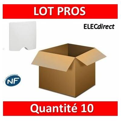 Legrand Niloé - Sortie de câble IP21 - Blanc - 664795x10