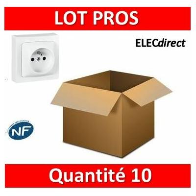 Legrand Oteo - Prise de courant 2P+T 16A - 230V - 086027x10