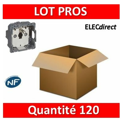 Legrand Céliane - Mécanisme LOT PROS - PC 2P+T 16A - 067111x120