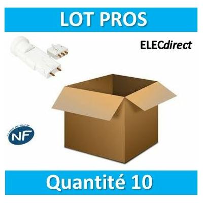 SIB - LOT PROS - Douille + fiche DCL - 11127x10