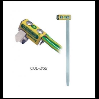 Collier inox pour liaison équipotentielle 8x32