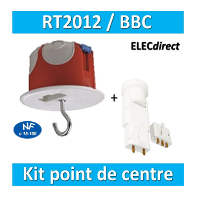 SIB - Kit Point de centre DCL BBC (plafond) - 36859