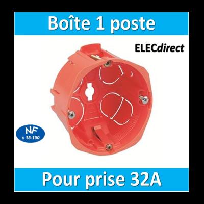 SIB - Boîte simple 32A - P18640