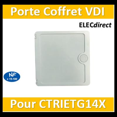 Casanova - Porte pour coffret VDI 250 pour CTRIETG14X - CASPCT250