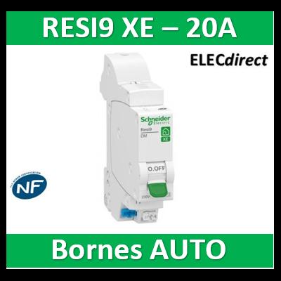 SCHNEIDER DISJONCTEUR RESI9 AUTO XE - 20A - EMBROCHABLE - R9EFC620