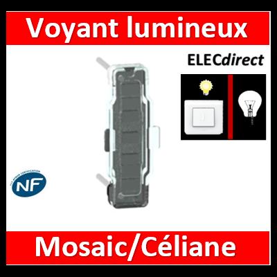 Legrand - Voyant Lumineux LED Prog. Céliane/Mosaic 230V - 067686