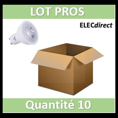 Vision EL - Lampe LED 7W - Dimmable - 3000K - 580 lumens - GU10 230V - 78182x10