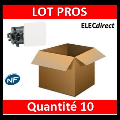 Legrand Oteo - Va-et-Vient composable 10A - 230V - 086101x10