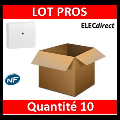 Legrand Oteo - Boîte de dérivation appareillage saillie complet - blanc - 086057x10