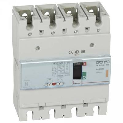 Legrand - Disjoncteur de puissance dpx³ 250 - magnéto-thermique - 25 ka - 4p - 250 a - 420219