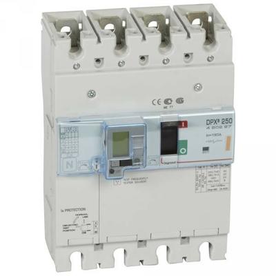 Legrand - Disjoncteur de puissance dpx³ 250 - magnéto-thermique diff - 25 ka - 4p - 160 a - 420227
