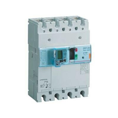 Legrand - Disjoncteur de puissance dpx³ 250 - électronique différentiel - 25 kA - 4p - 100 A - 420325