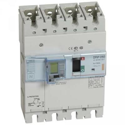 Legrand - Disjoncteur de puissance dpx³ 250 - électronique différentiel - 25 kA - 4p - 160 A - 420327
