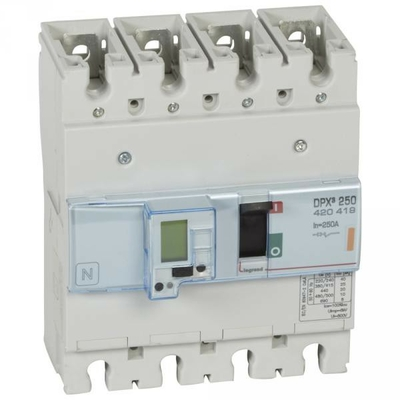 Legrand - Disjoncteur de puissance dpx³ 250 - électronique à unité de mesure - 25 ka - 4p - 250 a - 420419