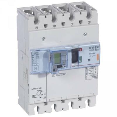 Legrand - Disjoncteur de puissance dpx³ 250 - électro diff à unité de mesure - 25 ka - 4p - 250 a - 420429