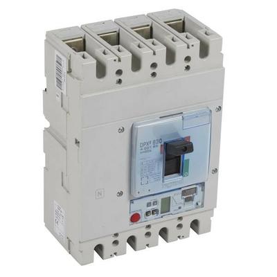 Legrand - Disjoncteur électronique sg + unité mesure dpx³ 630 - icu 36 ka - 4p - 400 a - 422183