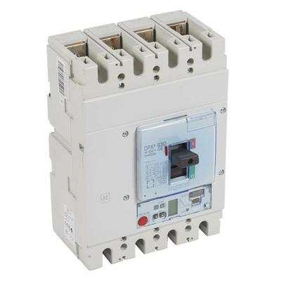 Legrand - Disjoncteur électronique s2 + unité mesure dpx³ 630 - icu 36 ka - 4p - 630 a - 422105