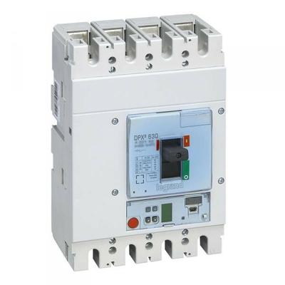 Legrand - Disjoncteur électronique s2 dpx³ 630 - icu 36 ka - 4p - 400 a - 422063