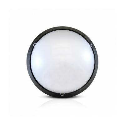 Vision-EL - LED Hublot + Détecteur HF Ø296 18W 1450LM 4500°K IP65 Noir mat - 779001