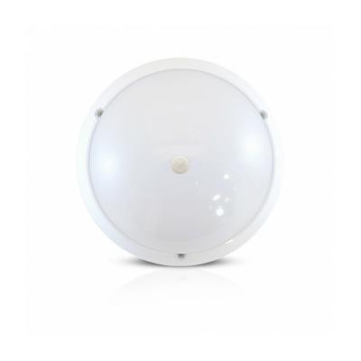 Vision-EL - LED Hublot + Détecteur IR Ø296 18W 1450LM 4500°K IP65 Blanc - 779002