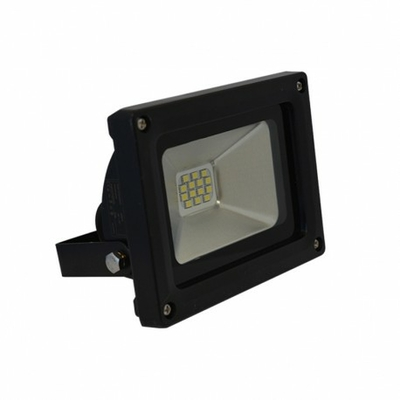 Vision EL - Projecteur LED 10W Noir IP65 - 80011N