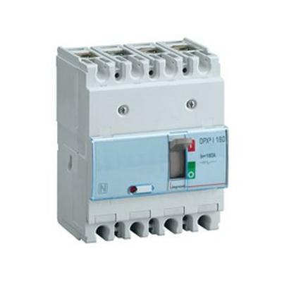 Legrand - Interrupteur à déclenchement libre - dpx³-i 160 - 4p - 160 a - 420199