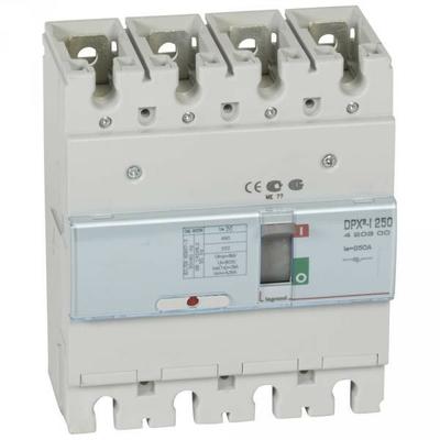 Legrand - Interrupteur à déclenchement libre - dpx³-i 250 - 4p - 250 a - 420300