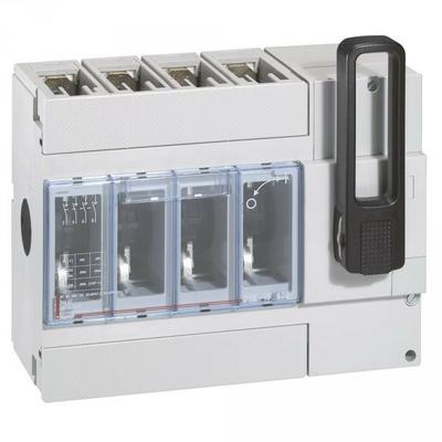 Interrupteur sectionneur DPX-IS 630 - 400 A - 4P - sans déclenchement - commande frontale - 026662
