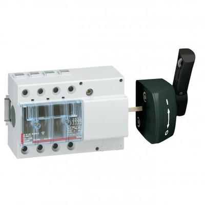Legrand - Interrupteur sectionneur Vistop - 63 A - 4P - cde latérale - poignée noire - 022518