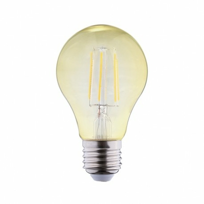 Vision-EL - Ampoule LED E27 Bulb Filament Golden 6W 2700°K Boite - 71390