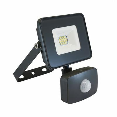 Vision EL - Projecteur Exterieur LED Gris avec Détecteur 10W 4000°K - 80302