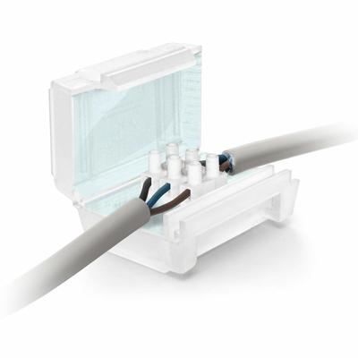 Ray Tech - Gel cover line - Accessoire pré-rempli en gel - 63x35x28 - Prêt à l'emploi - 2x4mm2 - OHM