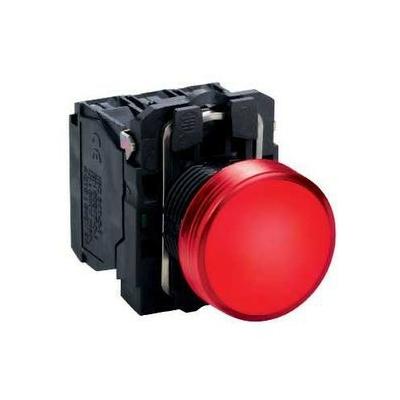 Schneider - Harmony voyant rond Ø22 - IP66 - rouge - LED intégrée - 24V - XB5AVB4