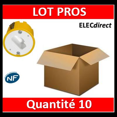 Legrand Batibox - Boîte luminaires pour applique - Prof. 40 - 089304x10