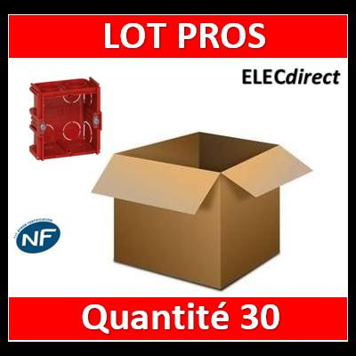 Legrand Batibox - Boîte à sceller monoposte prof. 40mm - 080141x30
