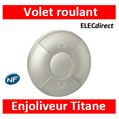 Legrand Céliane - Enjoliveur Titane Volets Roulants - 068451
