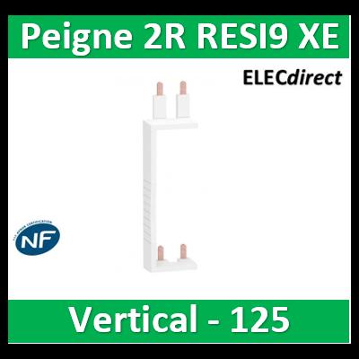 Schneider - Resi9 XP Peigne vertical 2 rangées entraxe 125mm pour Différentiel XE (AUTO) - R9EXV