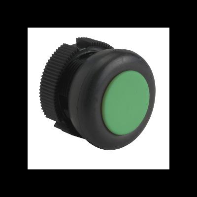 Schneider - Tête ronde pour bouton poussoir à impulsion XACA vert capuchonné - XACA9413