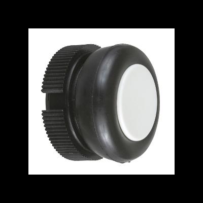 Schneider - Tête ronde pour bouton poussoir à impulsion XACA blanc capuchonné - XACA9411