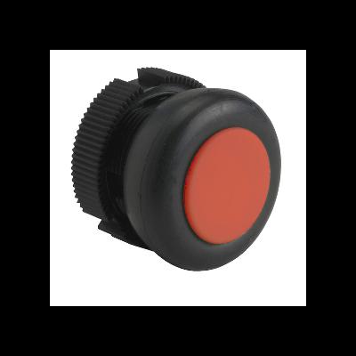 Schneider - Tête ronde pour bouton poussoir à impulsion XACA rouge capuchonné - XACA9414