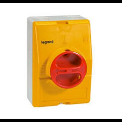 Legrand - Interrupteur de proximité - 4P neutre G - 16 A - 022181