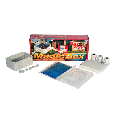 Ray Tech - Magic Box - Kit de connexion complet IP68 isolé avec Magic Fluid - D65. - MAGICBOX65