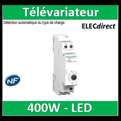 Schneider Multi9 - variateur DIN universel 400W - standard STD400LED - commande éclairage - CCTDD20016