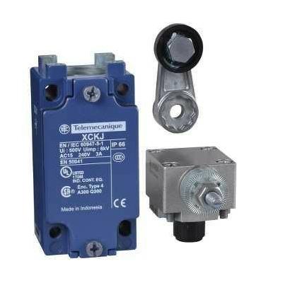 Schneider - interrupteur de position XCKJ levier à galet 1 O plus 1 F - SCHXCKJ10511