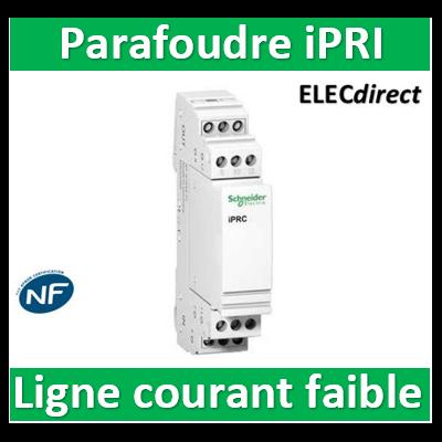 Schneider - Parafoudre pour lignes courant faible iPRI NF - A9L16339